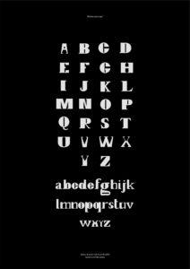 Poster Typographie - Arthur Loeil