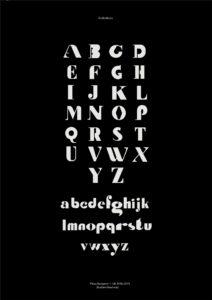Poster Typographie - Pleau Benjamin
