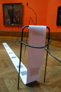 Exposition des BAC 3 au musée des Beaux-Arts de Tournai - Stylisme d'objet