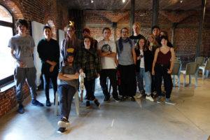 Workshop au CID-Centre d'Innovation et du Design du Grand-Hornu - Stylisme d'objet