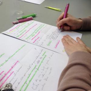 Workshop BAC 2 - Écriture de scénario